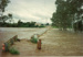 Flinders River in flood, Hughenden, 1990s?; Unidentified; 2011-321