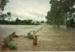 Flinders River in flood, Hughenden, 1990s?; Unidentified; 2011-321