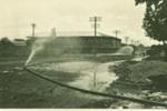 Fire hose watering Gray Street, Hughenden 1927; Unidentified; 1927; 2012-31