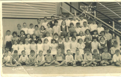 Hughenden State School, Grades 1-3, 1934; Kingdom Photo; 2011-426