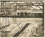 Construction site & Brodie Street, Hughenden, 1930s/1940s?; Unidentified; 1930s/1940s?; 2011-229