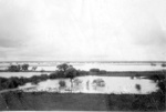 Cameron Downs house dam in flood, 1950; Unidentified; 1950; 2013-151