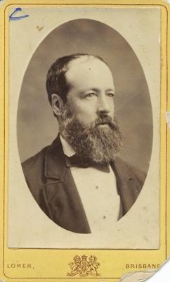 Studio portrait of Mr Corney of Hughenden, Queensland, ca.1873 - 1880; Lomer, Albert; ca.1873 - 1880; 2011-348