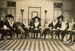 Group of men inside Masonic Lodge, Hughenden ca.1920s; Unidentified; 2013; 2013-93