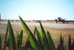 Planes at airport, Hughenden 2001; Murdoch, Colleen; 2001; 2012-144