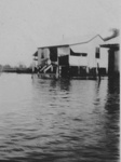 Buildings at Zara Station in flood, 1939; Unidentified; 1939; 2013-157