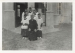 Reverend Father Thomas Kelly and Altar Boys, Hughenden, 1943; Unidentified; 1943; 2011-391
