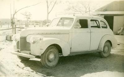 1936 Chevrolet sedan; Unidentified, Raymonde Studio; 1950s; 2013-80