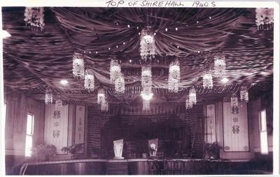 Inside Flinders Shire Hall, Hughenden, 1940s; Unidentified; 2011-209