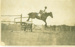 Ted Bailey going over the High Jump on horse, Hughenden 1930s; Don J. Peiniger, Townsville & Charters Towers; 1930s; 2012-253