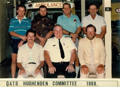 Group photo of QATB Hughenden Committee, 1988; Flinders Photographics; 1988; 2013-51