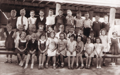 Hughenden Primary School Prep 2 class photo, 1949?; Unidentified; 2011-433