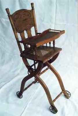 High chair; 1870 - 1900; FUR2/8