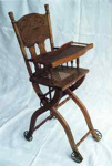 High chair; 1870 - 1900; FUR2/8