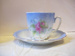Cup and Saucer(Childs Blue Floral); HOU2/3.2