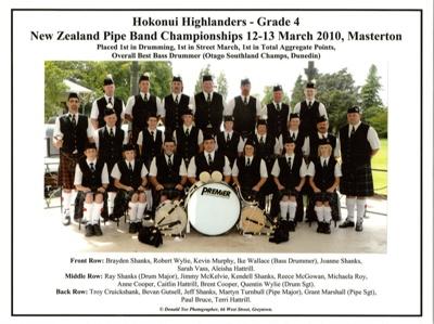 Photograph; a coloured photograph of the Hokonui H...