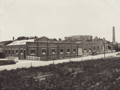 Photograph, 1 of 16, Mataura Paper Mill Album [Mill Buildings] ; unknown photographer; 1930-1939; MT2012.137.1