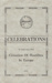 Programme: Celebrations for Cessation of Hostilities in Europe; Mataura Borough Council; 1945; MT2012.95.1