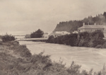 Photograph [Suspension Bridge, Mataura]; unknown photographer; 1912-1920; MT2011.185.166