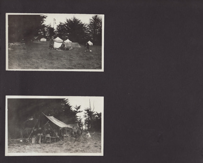 Photograph album; containing 164 black and white p...