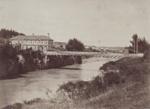 Photograph [Suspension Bridge, Mataura]; unknown photographer; 1912-1939; MT2011.185.165