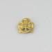 Badge, Girl Guides Trefoil; unknown maker; 1955-1963; MT2012.30.6