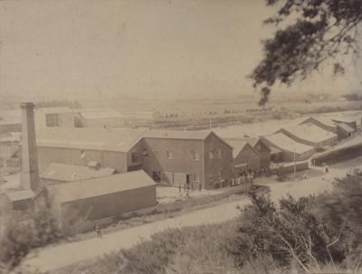 Photograph [Mataura Paper Mill]; unknown photographer; 1890-1900; MT2011.185.48