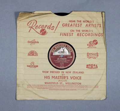 Gramophone record (78rpm speed). The Fairey Aviati...