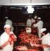 Photograph [Beef Boning, Mataura Freezing Works]; Green,Trevor; 1978; MT2013.2.11