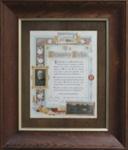 Illuminated Address, [Alexander Dickie]; McCormick & Pugh's Fine Art Gallery (Christchurch); 1916; MT2012.4.1