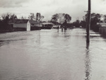 Photograph [1978 Flood, Argyle Street, Mataura]; Henderson, Keith Raymond; 1973; MT2017.18.37