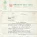 Letter, N.Z. Forest Service to Clara Hicks; Alexander Robert Entrican; 04.12.1957; MT2015.20.91