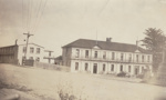 Photograph [Bridge Hotel, Mataura]; unknown photographer; 1950s; MT2011.185.100