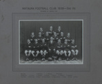 Photograph [Mataura Football Club, 3rd XV, 1938]; unknown photographer; 1938; MT2011.185.479