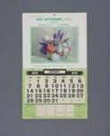 Calendar, Ian Paterson, M. P .S. Chemist, Mataura; Bruce Calendar Co. Ltd.; 1962; MT2012.110.1
