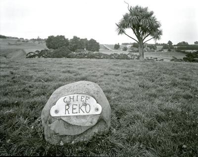 Memorial to Reko, Tuturau; Andrew Ross; 07.05.2014; MT2015.25.42