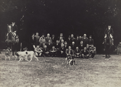 Photograph [The Birchwood Hunt Club, Mataura Branch]; unknown photographer; c.1935; MT2011.185.311
