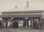 Photograph [Large Wedding Party for Wilson-Ross Wedding]; unknown maker; 1927; MT2011.185.250