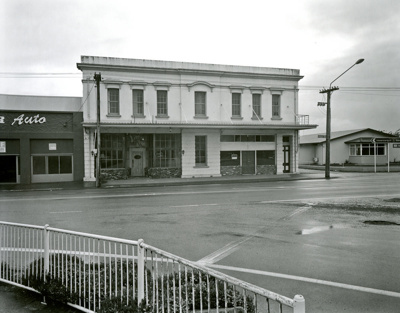 Black and white photograph of Henry's building on ...