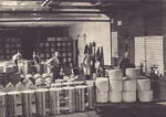 Photograph, 16 of 19, Mataura Dairy Factory Album [Making Cheese Crates]; unknown photographer; 1927; MT2012.139.16