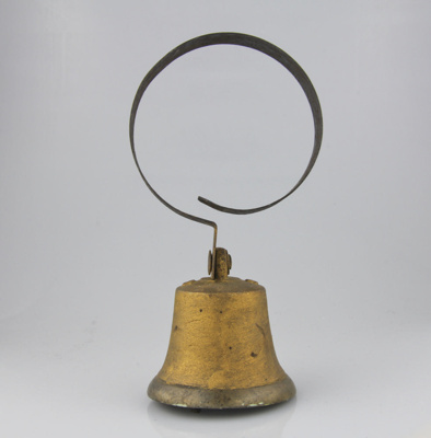 Bell; used in the house originally occupied by Dr ...