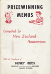 Cookery Book, Prizewinning Menus; Henry Brothers, Butchers; 1965; MT2012.88.5