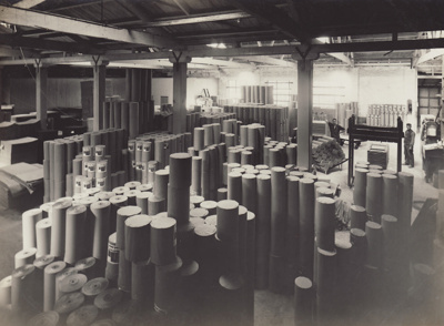 Photograph, 13 of 16, Mataura Paper Mill Album [Finishing Room]; unknown photographer; 1920s; MT2012.137.13