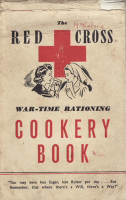 Cookery book: RED CROSS WAR-TIME RATIONING COOKERY...