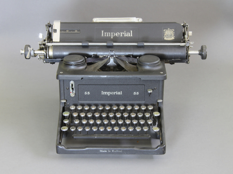 dating imperial typewriters Shop for-and learn about-antique and vintage typewriters when you think about it, typing on a computer is a magical thing—just hit the keys you want, and.