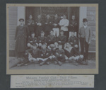 Photograph [Mataura Football Club, 3rd XV, 1910]; unknown photographer; 1910; MT2011.185.317