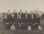 Photograph [Mataura Dairy Factory employees, 1916-1917]; Southland Photo Co.; 1917; MT2011.185.83