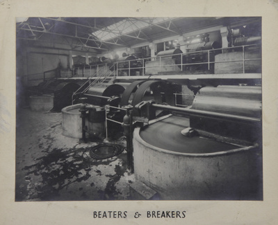 Photograph [Beaters and Breakers, Mataura Paper Mill]; unknown photographer; 1962-1970; MT2012.15.16