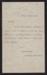 Funeral invitation, Janet McDonald; unknown maker; 13.10.1873; MT2012.62
