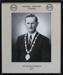 Photograph, framed [Mataura Borough Council Mayor, Keith Henderson]; Hazeldines Studio (Invercargill); 1970-1983; MT2000.166.3.5